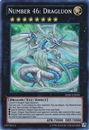 Yu-Gi-Oh Shadow Specters Single Number 46: Dragluon SUPER RARE - NEAR MINT (NM)