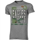 Philadelphia Eagles Junk Food Gray Touchdown Tri-Blend Tee (Adult Large)