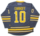 Image for  Christian Ehrhoff Autographed Buffalo Sabres Blue Hockey Jersey