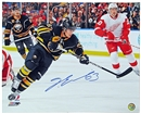 Tyler Ennis Autographed Buffalo Sabres 16x20 Hockey Photo