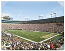 Artissimo Green Bay Packers Lambeau Field Stadium 22x28 Canvas