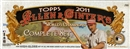2011 Topps Allen & Ginter Baseball High Gloss Hobby Complete Set (Box)