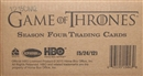 Game Of Thrones Season Four Trading Cards 12-Box Case (Rittenhouse 2015)