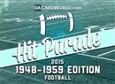 2015 Hit Parade Football 1948 - 1959 Edition