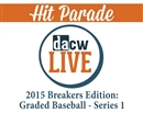2015 Hit Parade Breakers Edition: Graded Baseball Series 1