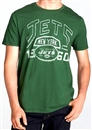 New York Jets Junk Food Green Kick Off Vintage Tee (Adult Large)