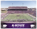 Kansas State Wildcats Artissimo Gradient Stadium 22x28 Canvas