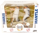 1961 N.Y. Yankees Roger Maris/Mickey Mantle Duo McFarlane Figure