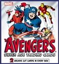 Marvel: The Avengers Silver Age Trading Cards 12-Box Case (Rittenhouse 2015) (Presell)