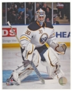 Image for  Ryan Miller Buffalo Sabres white jersey 8x10 Hockey Photo