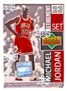 1999 Upper Deck Michael Jordan Retirement Basketball Factory Set