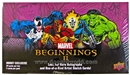 Marvel Beginnings II Trading Cards Hobby Box (Upper Deck 2012)