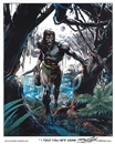 "Image for  Neal Adams Autographed Tarzan ""I Told You He'd Come"" Lithograph"