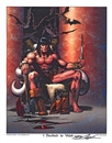 "Image for  Neal Adams Autographed Conan ""I Decided To Wait"" Lithograph"