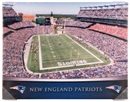 New England Patriots Artissimo Gradient Gillette Stadium 22x28 Canvas