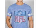 Junk Food NFL Shield Light Blue Tee (Adult Large)