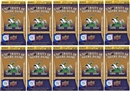 2013 Upper Deck University of Notre Dame Football 10-Pack Box (10 Box Lot)