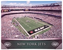 New York Jets Artissimo Gradient MetLife Stadium 22x28 Canvas