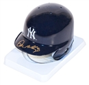 Don Mattingly Autographed New York Yankees Mini Helmet (JSA)