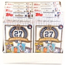 2010 Topps New York Yankees Baseball 27 World Championships Box (8 Sets)