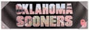 Oklahoma Sooners Artissimo Team Pride 30x10 Canvas