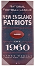 New England Patriots Vintage Sign 24x12 Artissimo - Regular Price 39.99 !!!