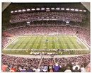 New England Patriots Artissimo Gillette Stadium 22x28 Canvas