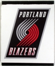 Portland Trail Blazers 2004 NBA Draft Board Team Logo Panels