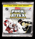 2009 Topps Puck Attax Hockey Booster Pack