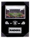 Artissimo Oakland Raiders Framed 14x18 Framed Plaque