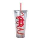 Boelter Boston Red Sox Tide 22 oz Double Insulated Swirl Tumbler
