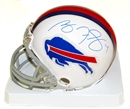 Image for  Ryan Fitzpatrick Autographed Buffalo Bills Football Mini Helmet