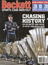2014 Beckett Sports Card Monthly Price Guide (#348 March) (Jimmie Johnson)