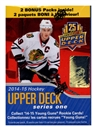 2014/15 Upper Deck Series 1 Hockey 12-Pack Box