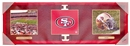 Artissimo San Fransisco 49ers Tri-Panel 30x10 Canvas