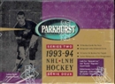 1993/94 Parkhurst Series 2 Hockey Jumbo Box
