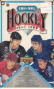 1991/92 Upper Deck French Hi # Hockey Hobby Box