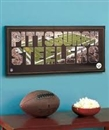 Artissimo Pittsburgh Steelers Team Pride 26x12 Canvas