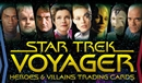 Star Trek: Voyager Heroes & Villains 12-Box Case (Rittenhouse 2015) (Presell)