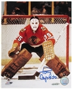 Tony Esposito Autographed Chicago Blackhawks 8x10 Hockey Photo