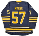Image for  Tyler Myers Autographed Buffalo Sabres Blue Hockey Jersey