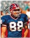 Tony Cline Autographed Buffalo Bills 8x10 Football Photo