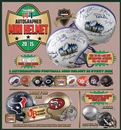 2014 TriStar Hidden Treasures Autographed Mini-Helmet Football Hobby Box (Presell)