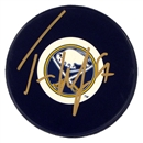 Image for  Tyler Myers Autographed Buffalo Sabres Hockey Puck