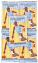 5x 2010/11 Upper Deck North Carolina Basketball Retail Pack