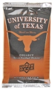 2011 Upper Deck University of Texas Football Hobby Pack