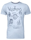 The Villains Junk Food Light Blue Ultimate Evil Tee (Adult XX-Large)