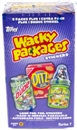 4x Wacky Packages Series 7 Trading Card 6-Pack Box (2010 Topps)