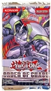 Image for  3x Konami Yu-Gi-Oh Order of Chaos Booster Pack