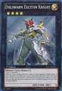 Yu-Gi-Oh LVAL 1st Ed. Single Evilswarm Exciton Knight Secret Rare - SLIGHT PLAY (SP)